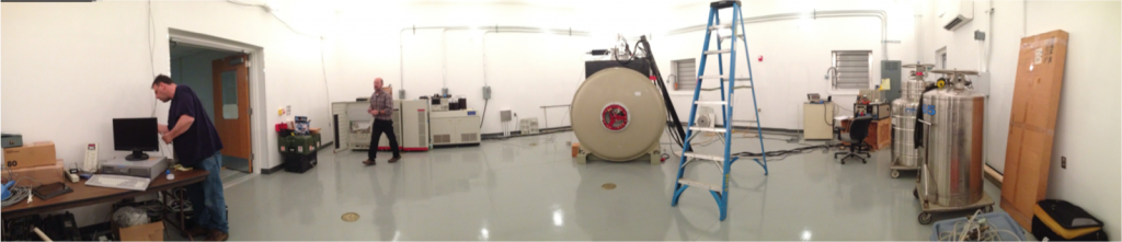 Panoramic view of CMAST's new MMRF facility.