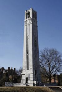 NC State University Belltower