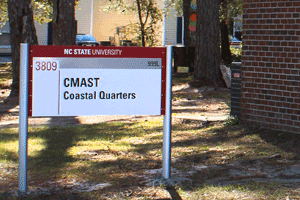 CMAST Coastal Quarters Sign
